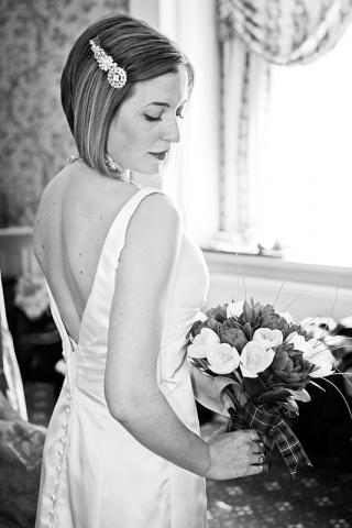 Bride at Grim's Dyke