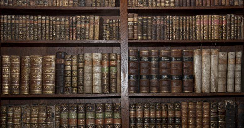 Old Library Books