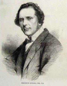 Portrait of Frederick Goodall