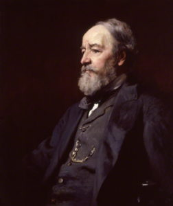 by Francis Montague ('Frank') Holl, oil on canvas. National Portrait Gallery