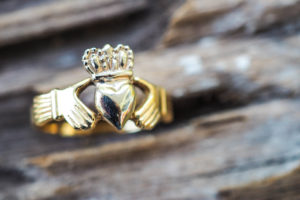 Traditional Claddagh Ring from Ireland