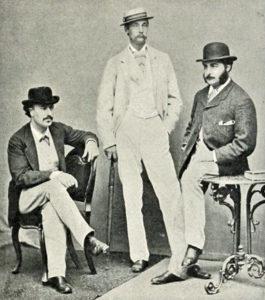 Clay, Seymour Egerton and Sir Arthur Sullivan, 1860s