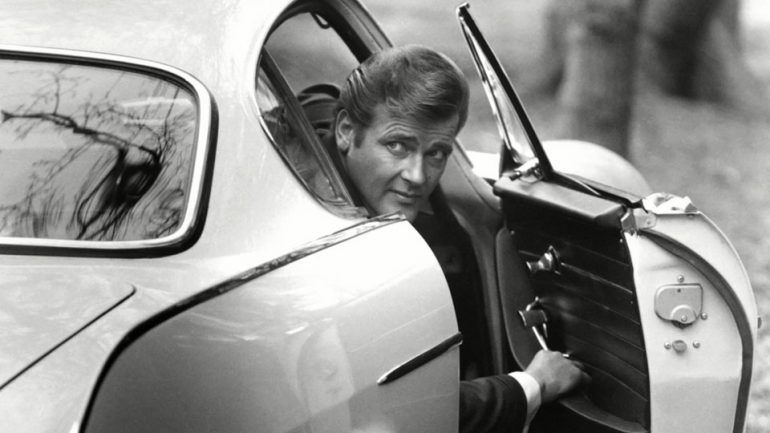 Roger Moore The Saint