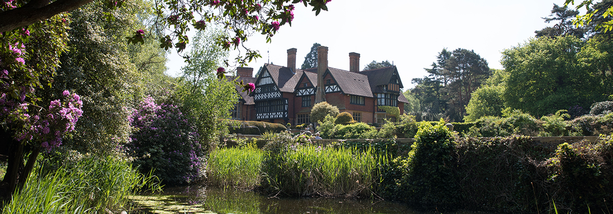 grims dyke house and lake